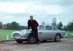 Aston Martin DB5 y Sean Connery