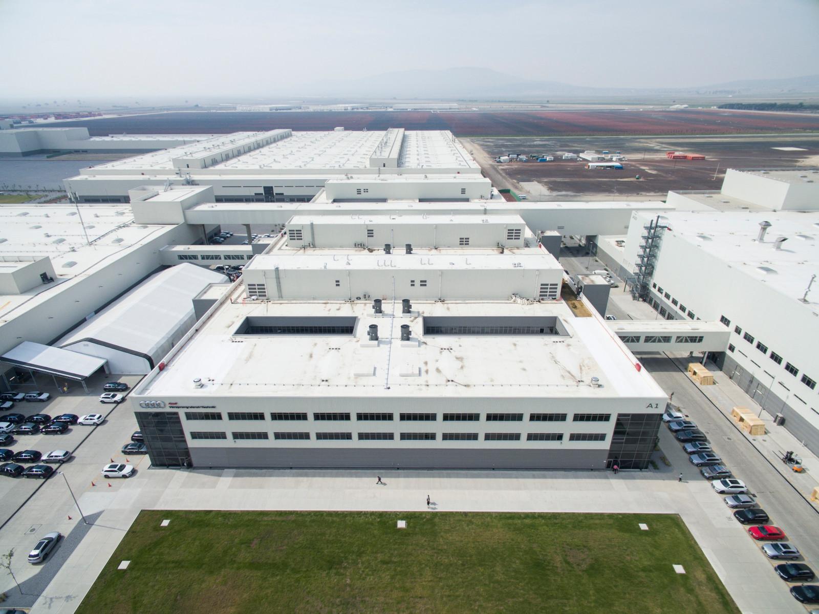 Audi México cierra un año muy productivo