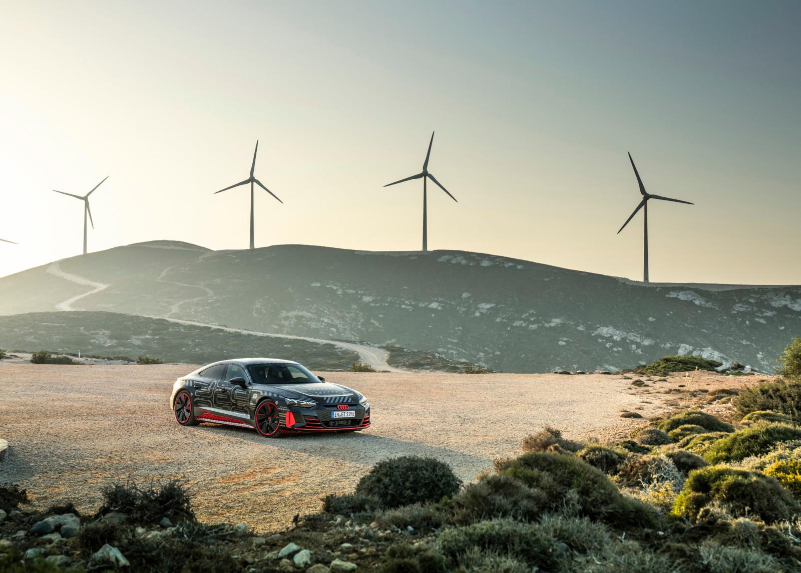 Audi e-tron GT, producción sustentable