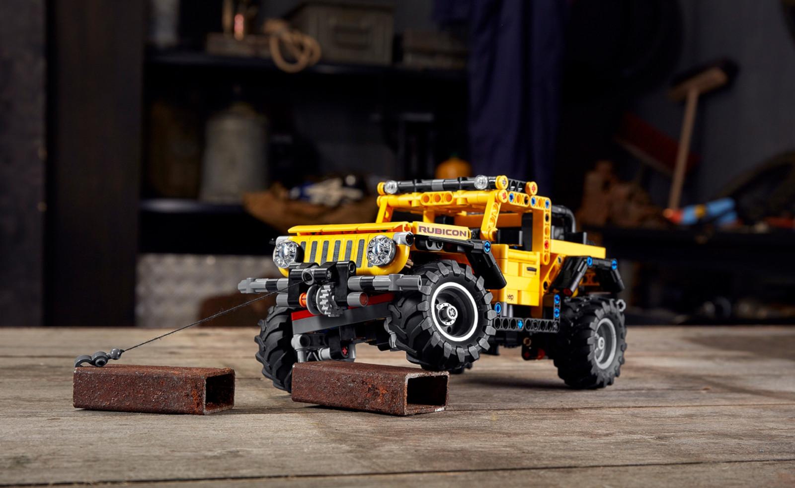 El LEGO para quienes aman el 4X4: Jeep Wrangler Rubicon