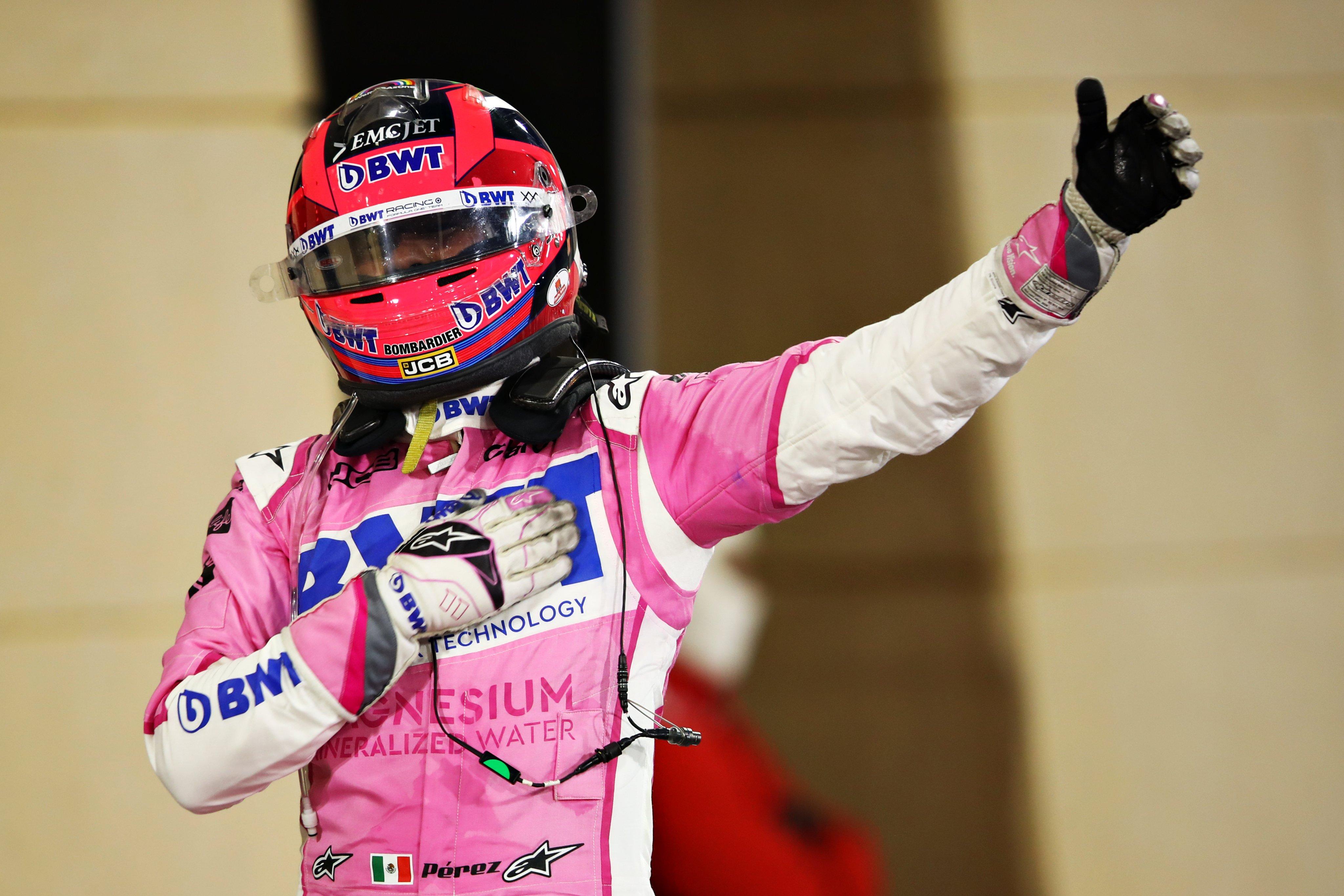 Sergio Pérez hace historia en la Fórmula 1