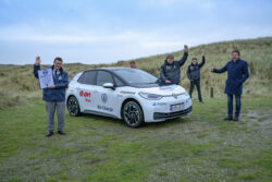 Recorren más de 28 mil kilómetros en un Volkswagen ID.3