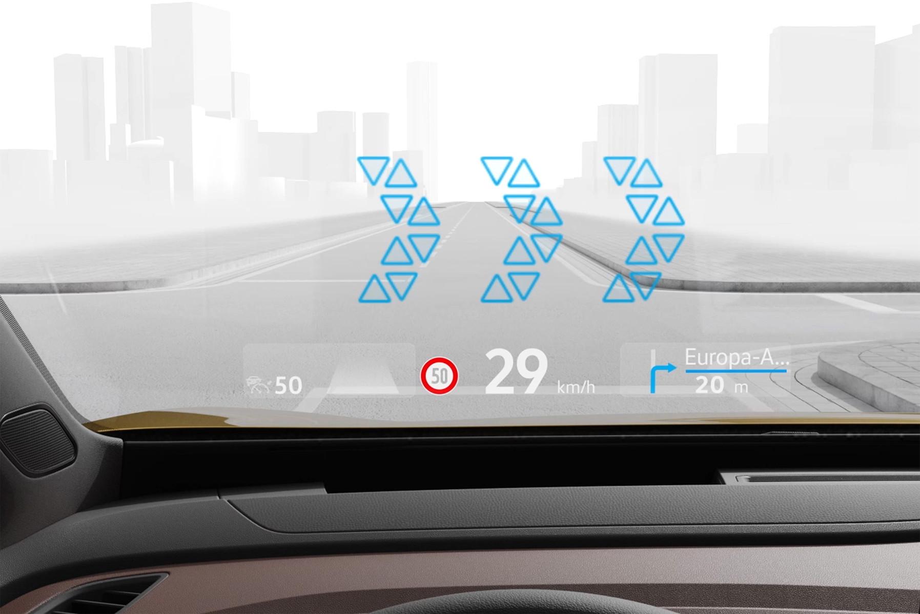 Volkswagen analiza la realidad aumentada en el head-up display
