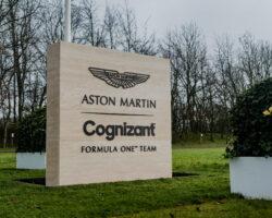 Aston Martin tiene nuevo patrocinador titular