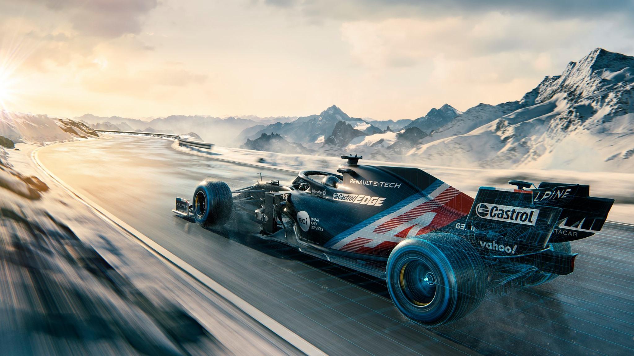 Alpine presenta el A521 con el que competirá en la F1