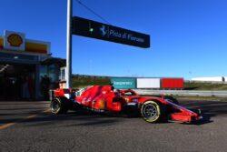 Leclerc se puso al volante del Ferrari SF71-H en Fiorano