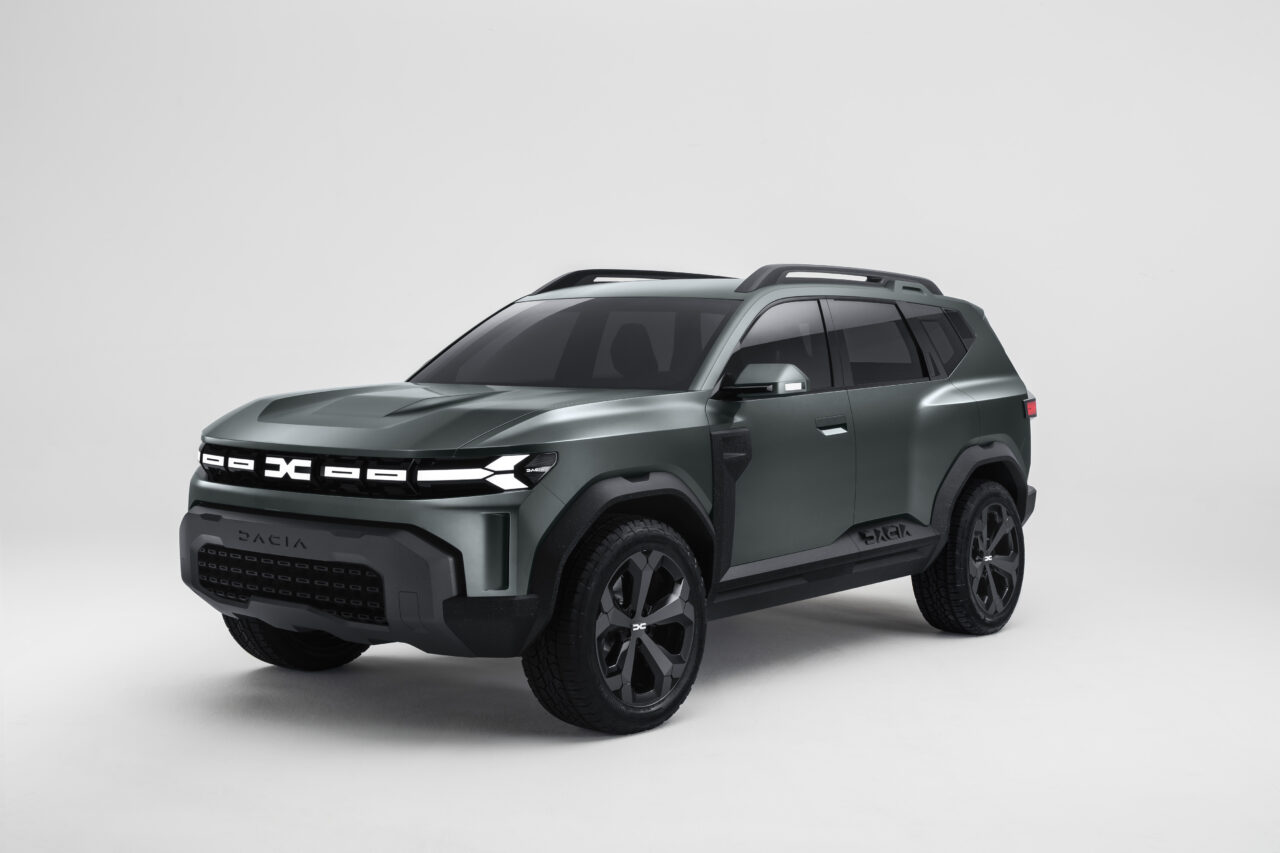 Dacia presenta el Bigster Concept