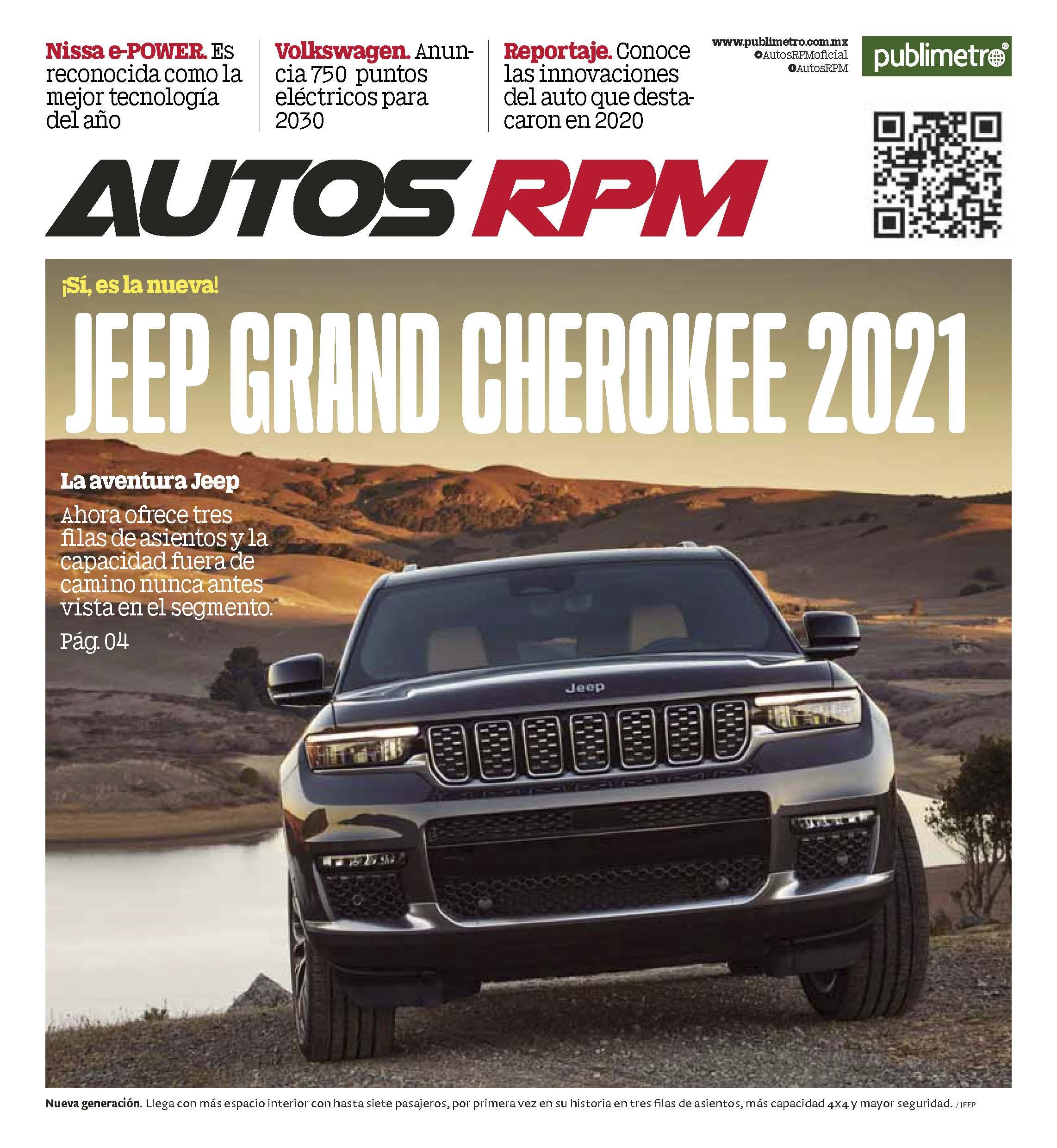 Suplemento Autos RPM 7 de enero 2021