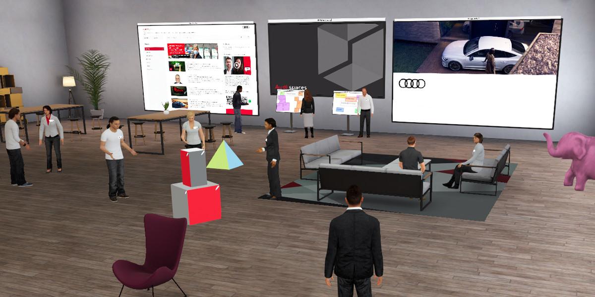 Audi Spaces, para trabajar en espacios virtuales