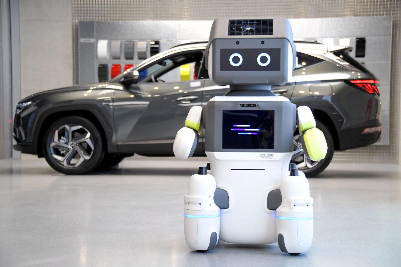 'DAL-e' el robot humanoide de Hyundai para servicio al cliente