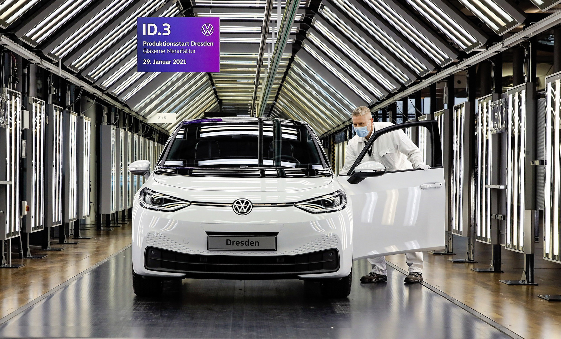 Dresde se suma a la producción del Volkswagen ID.3
