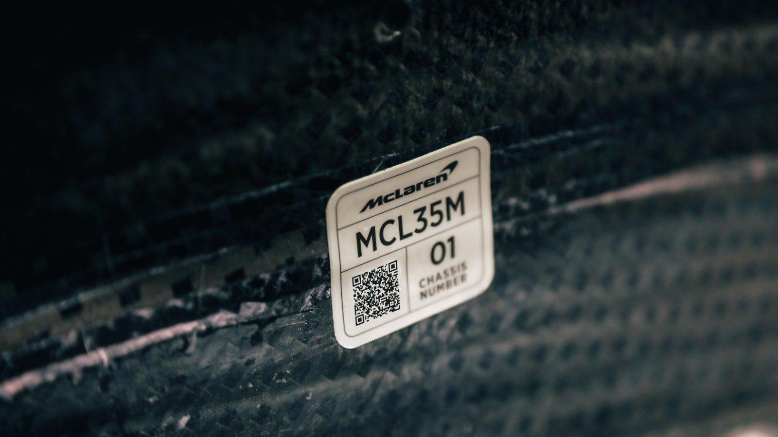 McLaren fijó fecha para presentar el MCL35M