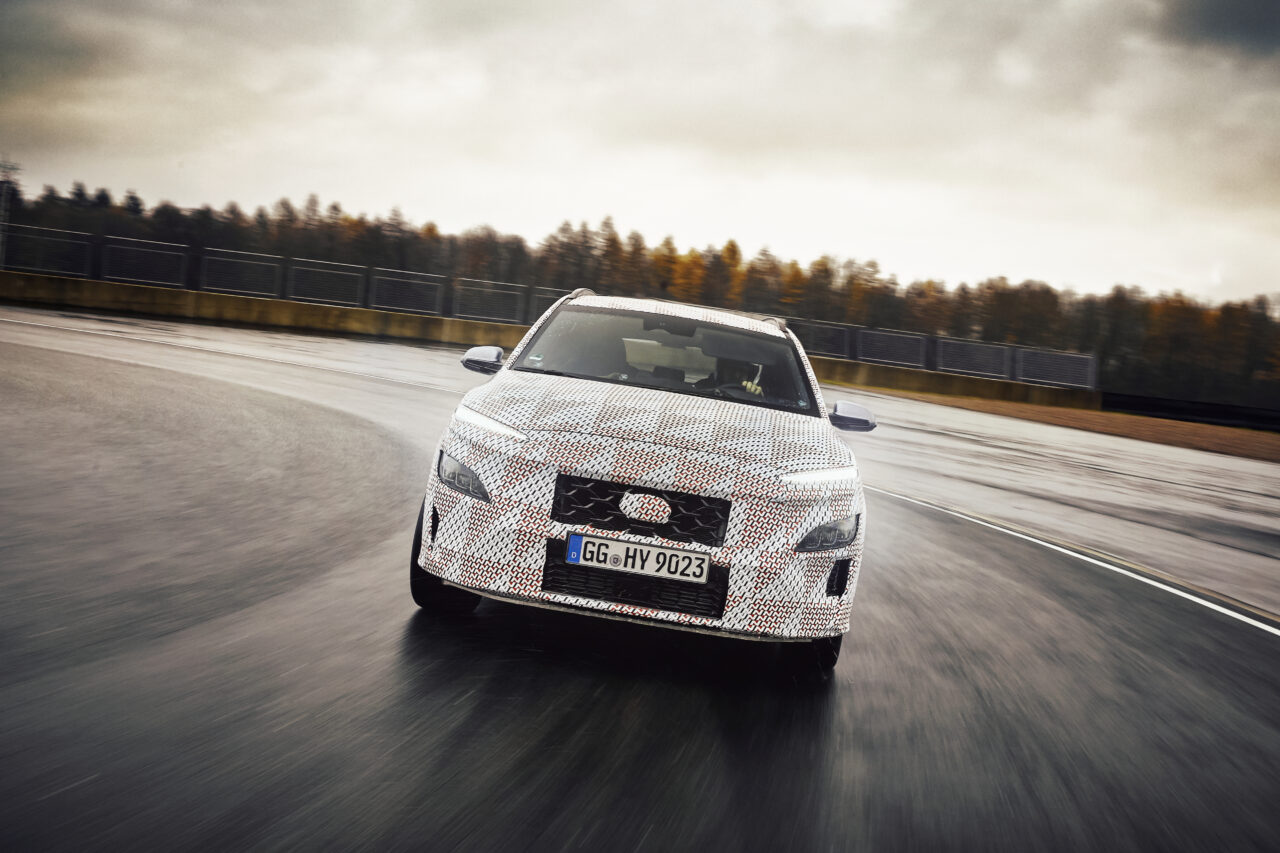 Hyundai KONA es el primer SUV en unirse a la familia N