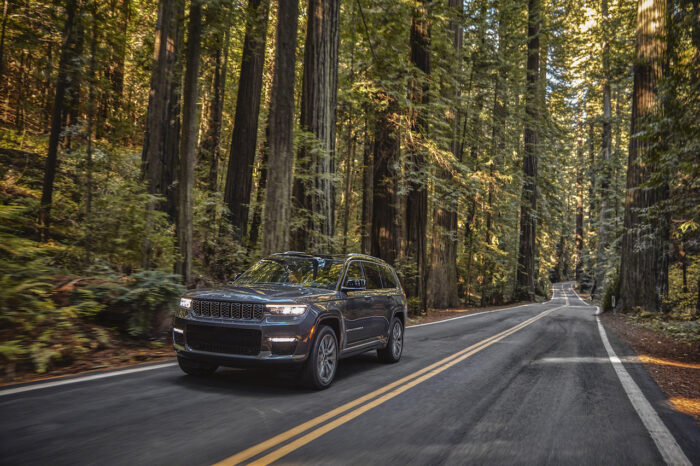 ¡Sí, es la nueva Jeep Grand Cherokee 2021!