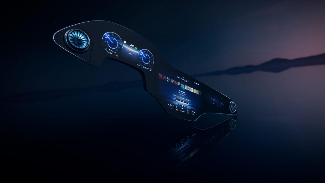 Video: Estreno mundial de la pantalla más grande de Mercedes-Benz