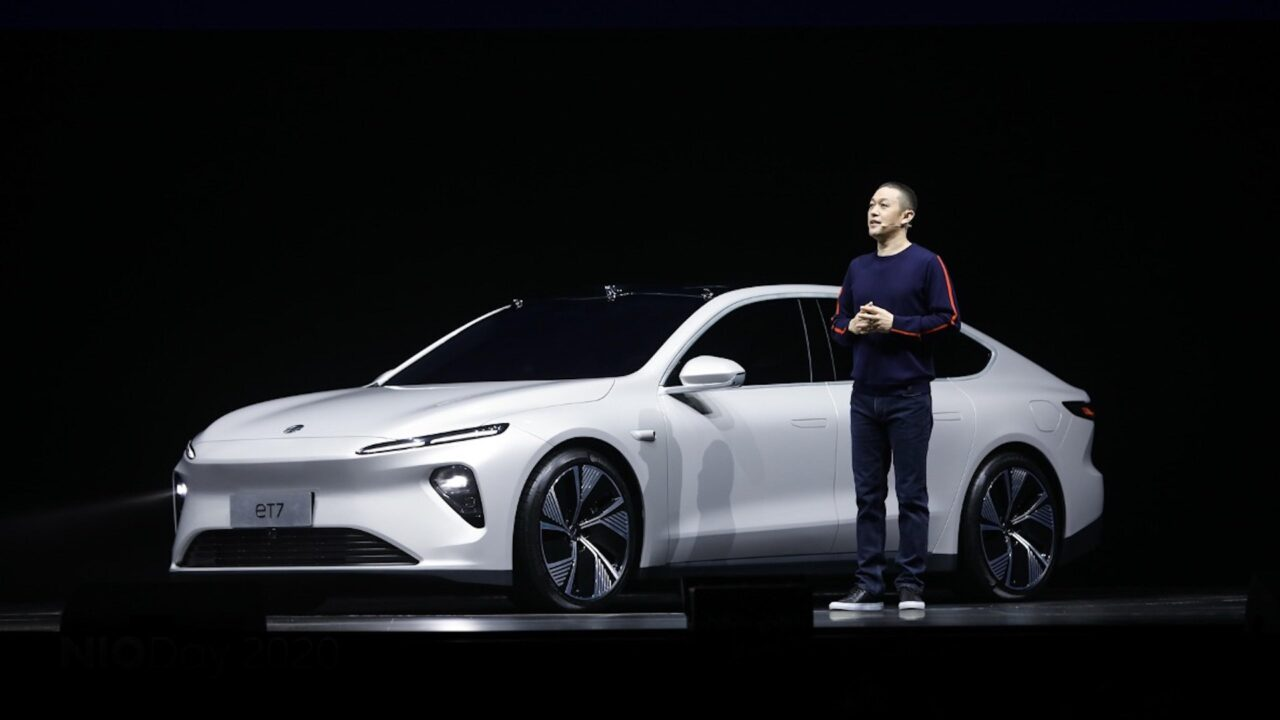 NIO lanza su primer vehículo de conducción autónoma
