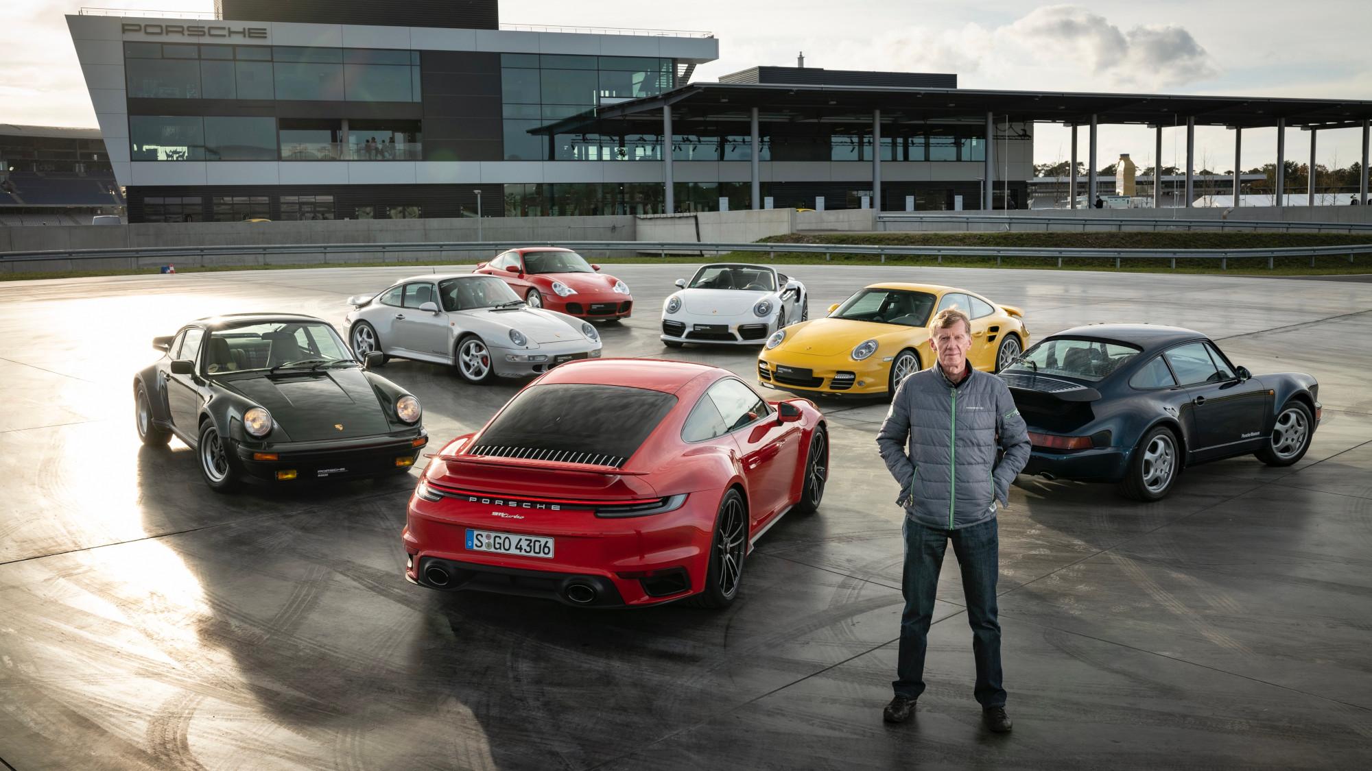 Lunes de leyenda: Porsche 911 Turbo, de la mano de Walter Röhrl