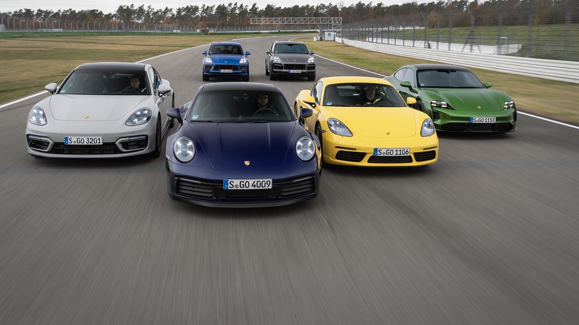 Porsche logra un sólido nivel de ventas