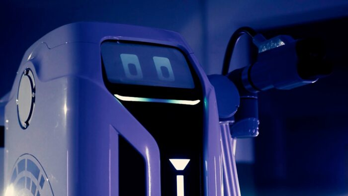Robots de carga móvil de Volkswagen