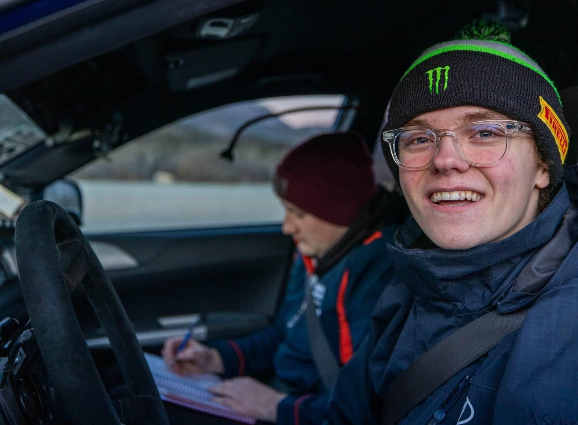 Oliver Solberg debutará en un World Rally Car