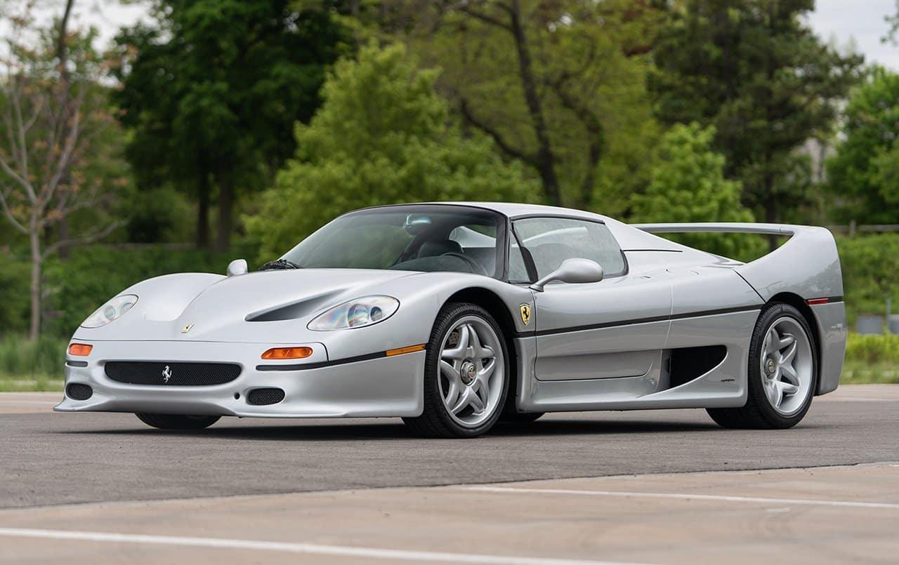 Ferrari F50: el descendiente de la Fórmula 1