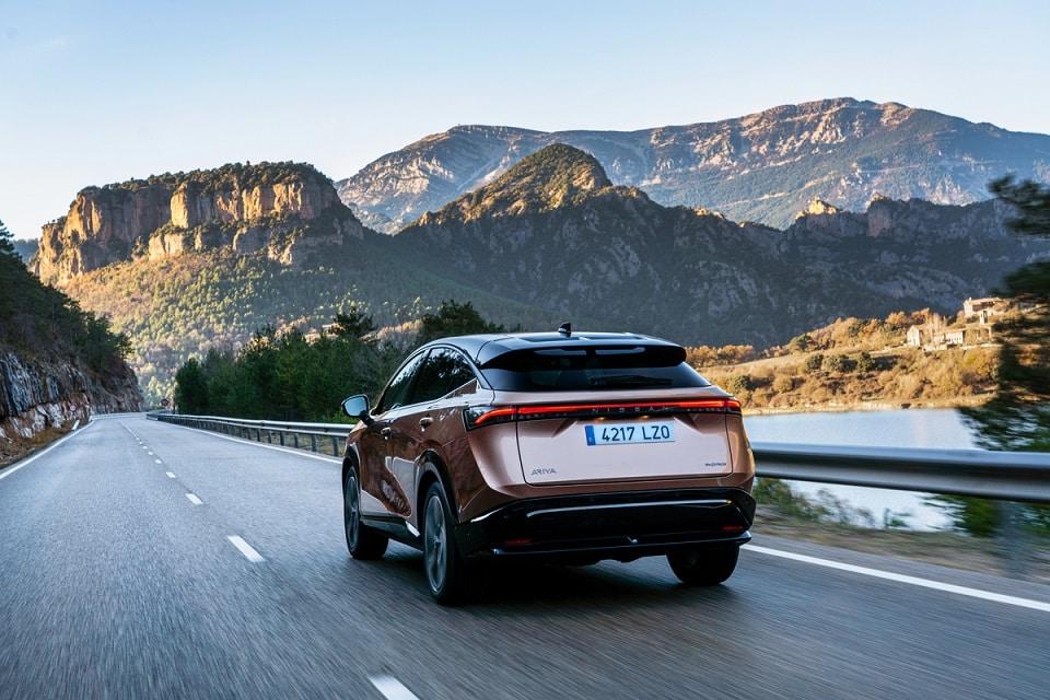 Así es como la aerodinámica de Nissan Ariya influye en su autonomía