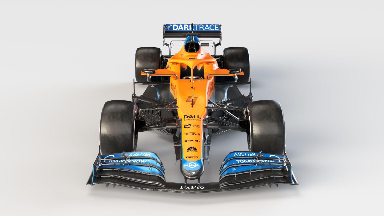 McLaren presentó el MCL35M con motor Mercedes