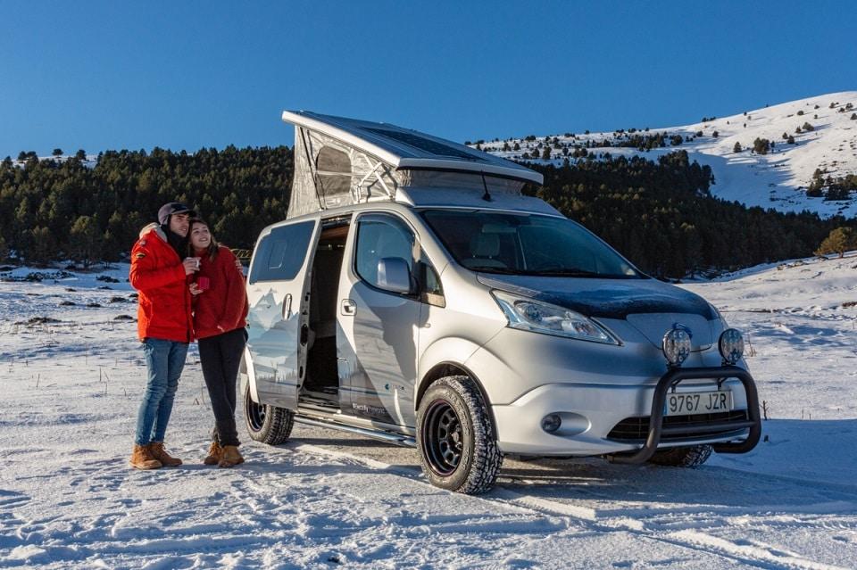 Nissan Winter Camper Concept, la nieve no es impedimento para acampar