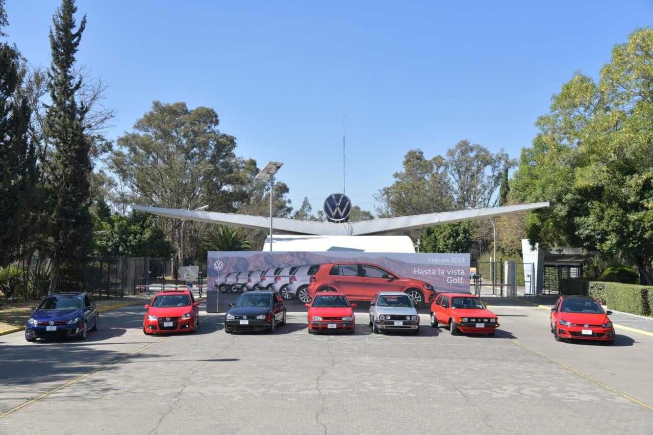 Las 7 generaciones del icónico Volkswagen Golf, #HastaLaVistaGolf