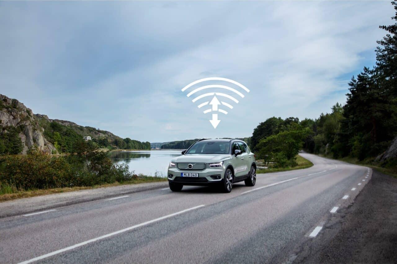 Volvo lanza su primera actualización de software inalámbrica en el XC40