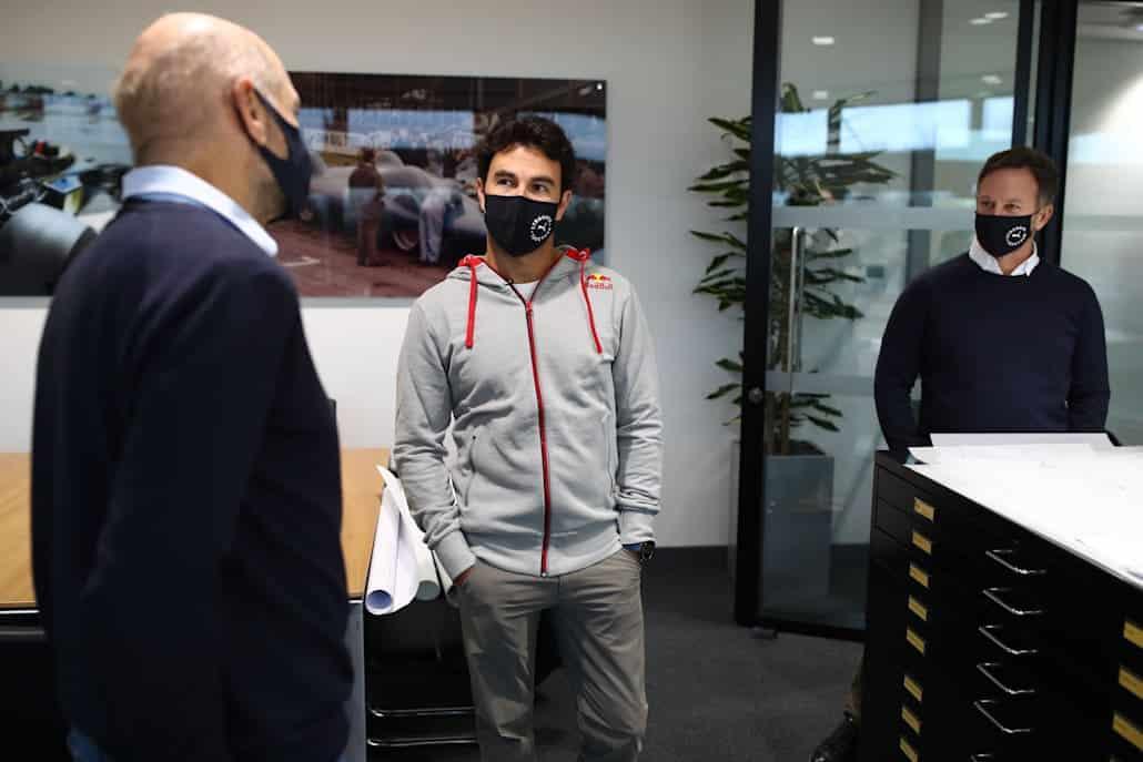 """Sergio Pérez: """"Hablar con Newey es como hacerlo con un piloto"""""""