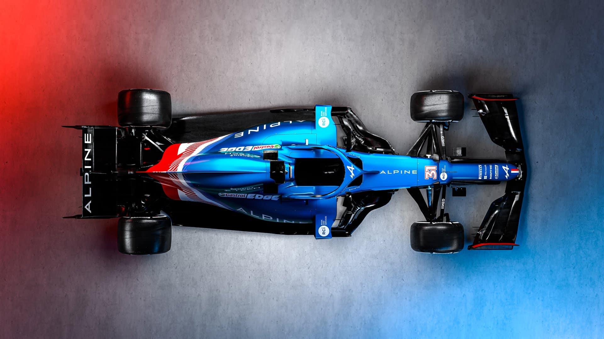 Alpine presenta los colores definitivos del A521