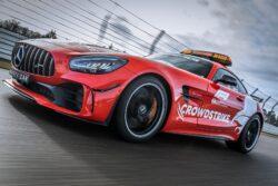 """Aston Martin y Mercedes presentan los nuevos """"Safety Car"""" de la F1"""