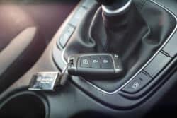 auto sin llave robo seguridad