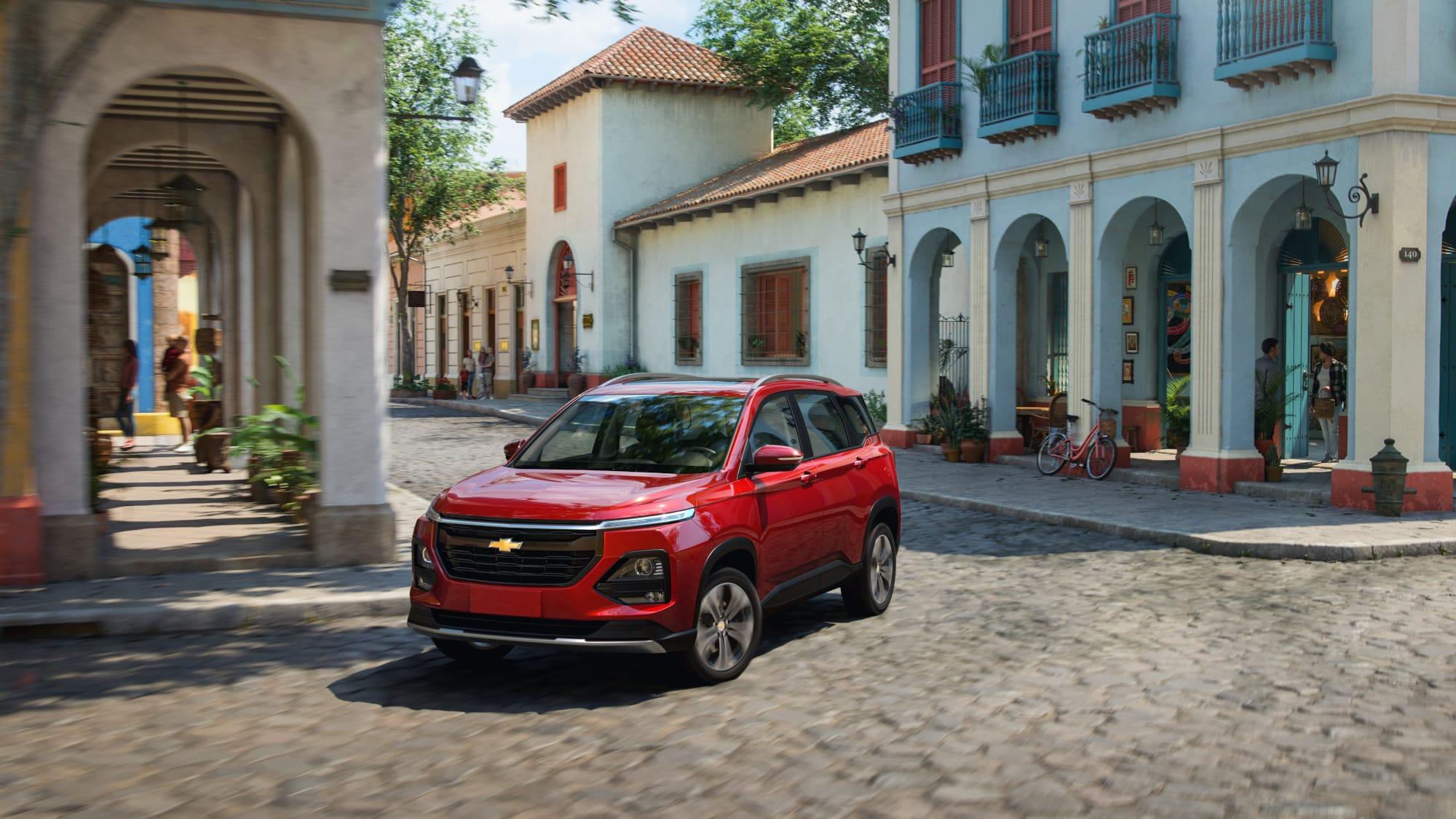 Chevrolet Captiva 2022, capacidad para toda la familia