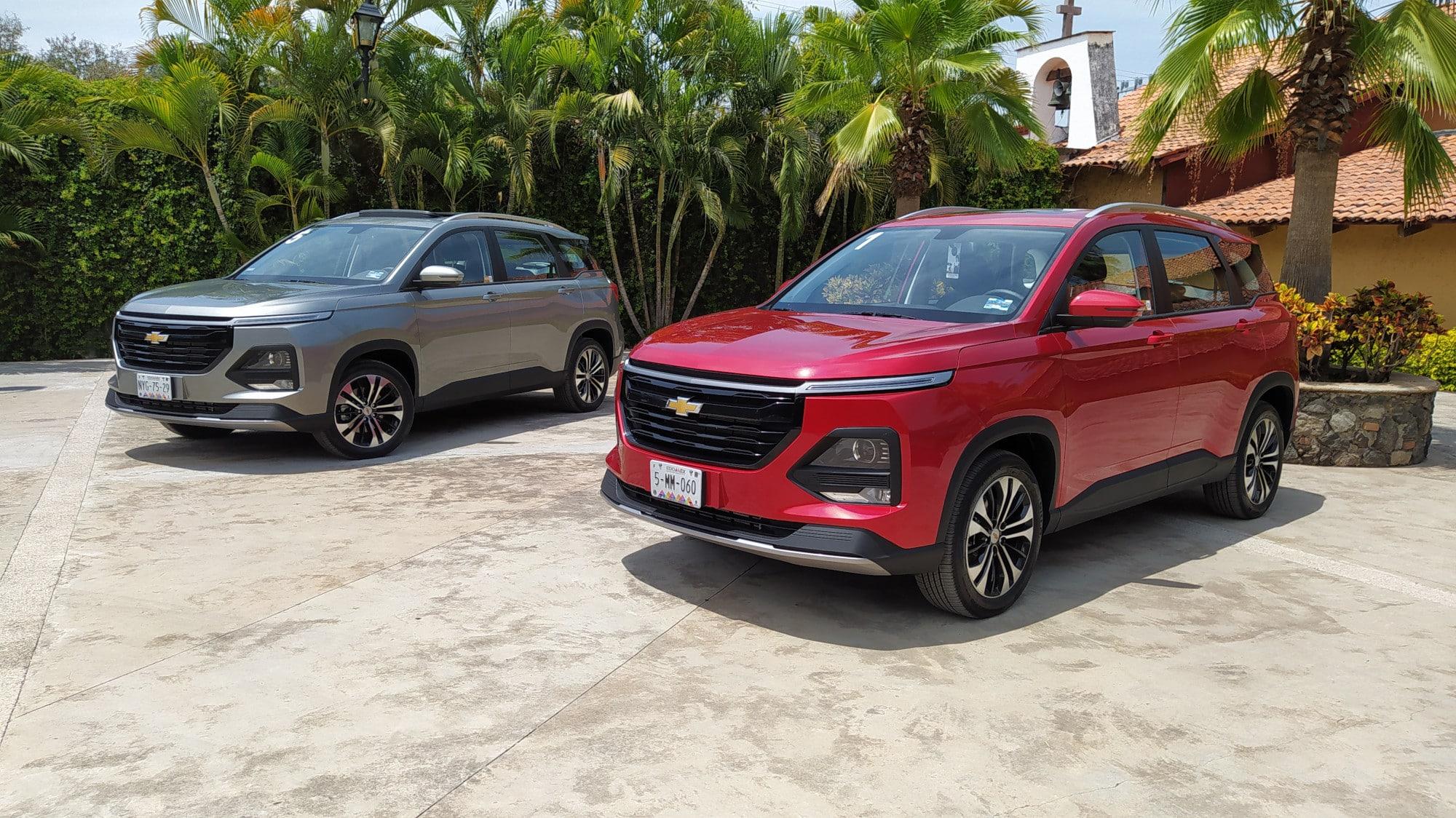 Chevrolet Captiva 2022, para viajes en familia