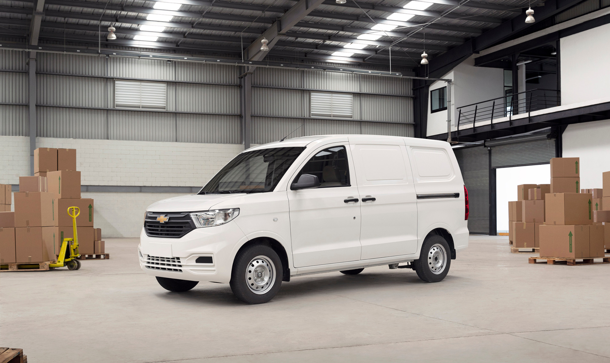 Chevrolet Tornado Van 2022, lista para el trabajo