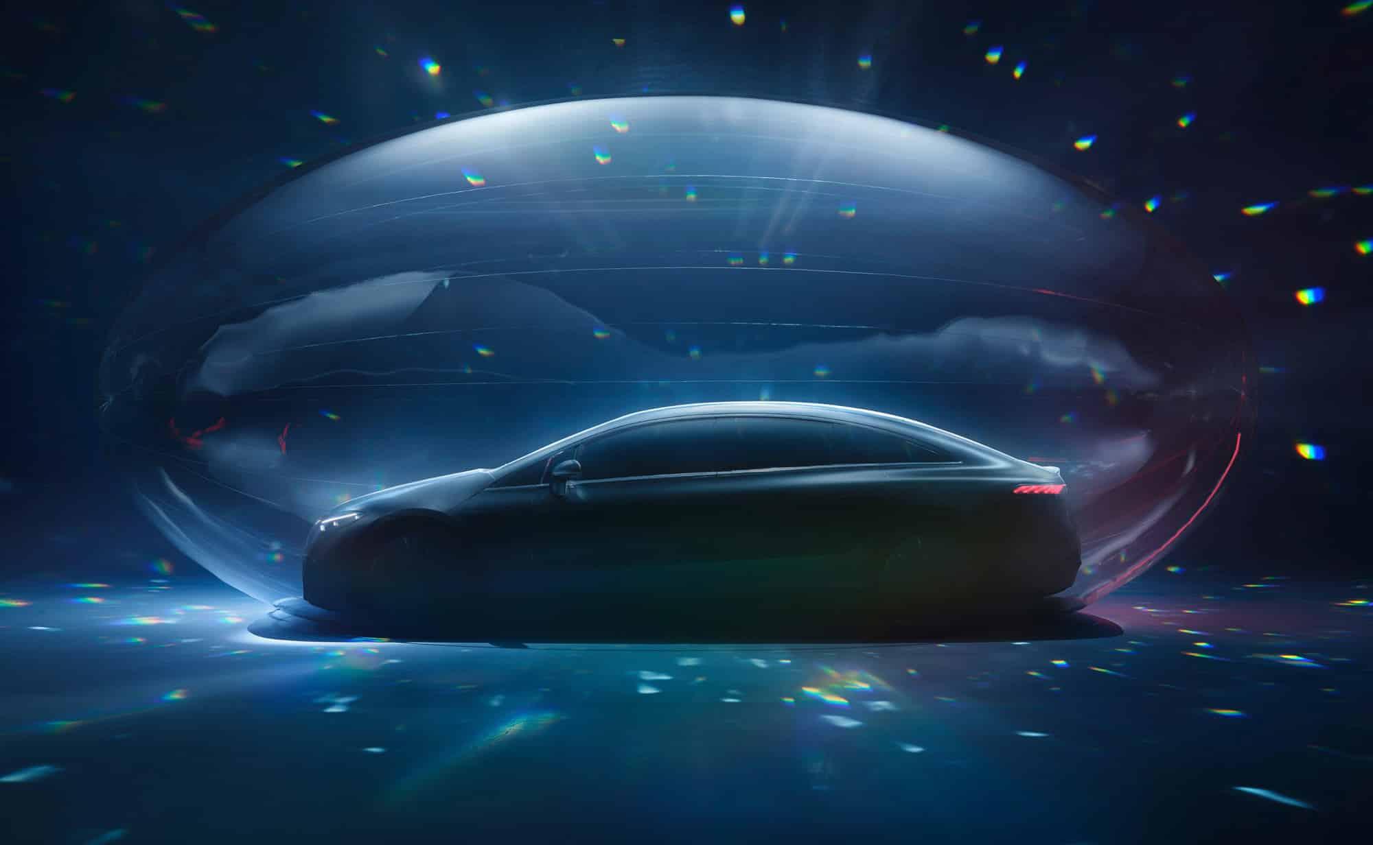 EQS, el nuevo eléctrico de Mercedes-EQ debutará el 15 de abril
