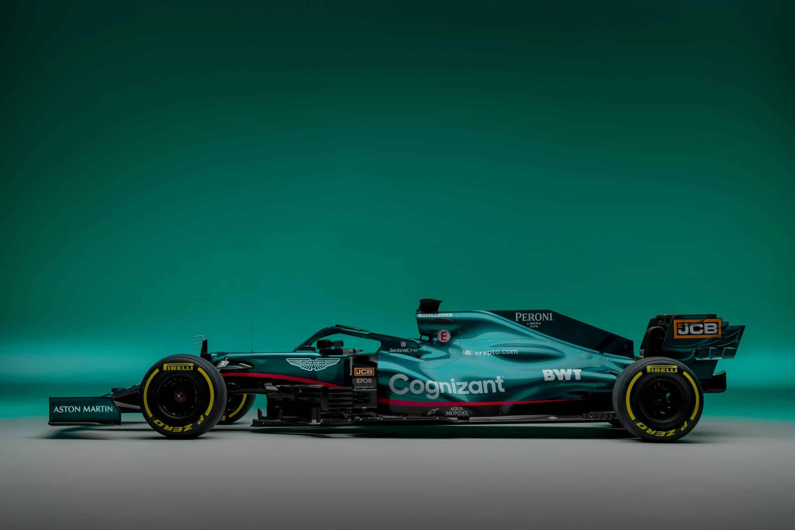 Aston Martin revela su primer auto de F1 en más de 60 años