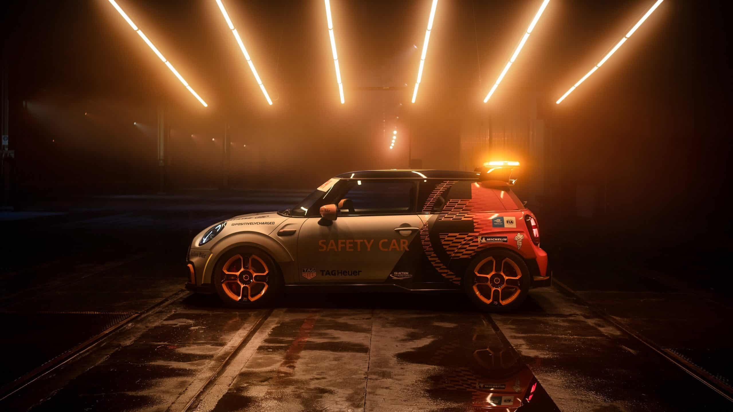 El Mini Electric Pacesetter se convertirá en el nuevo safety car de la Fórmula E