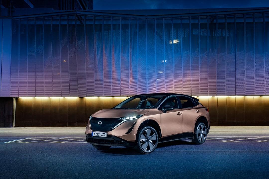 Nissan Ariya devela nuevos colores también inspirados en la movilidad eléctrica