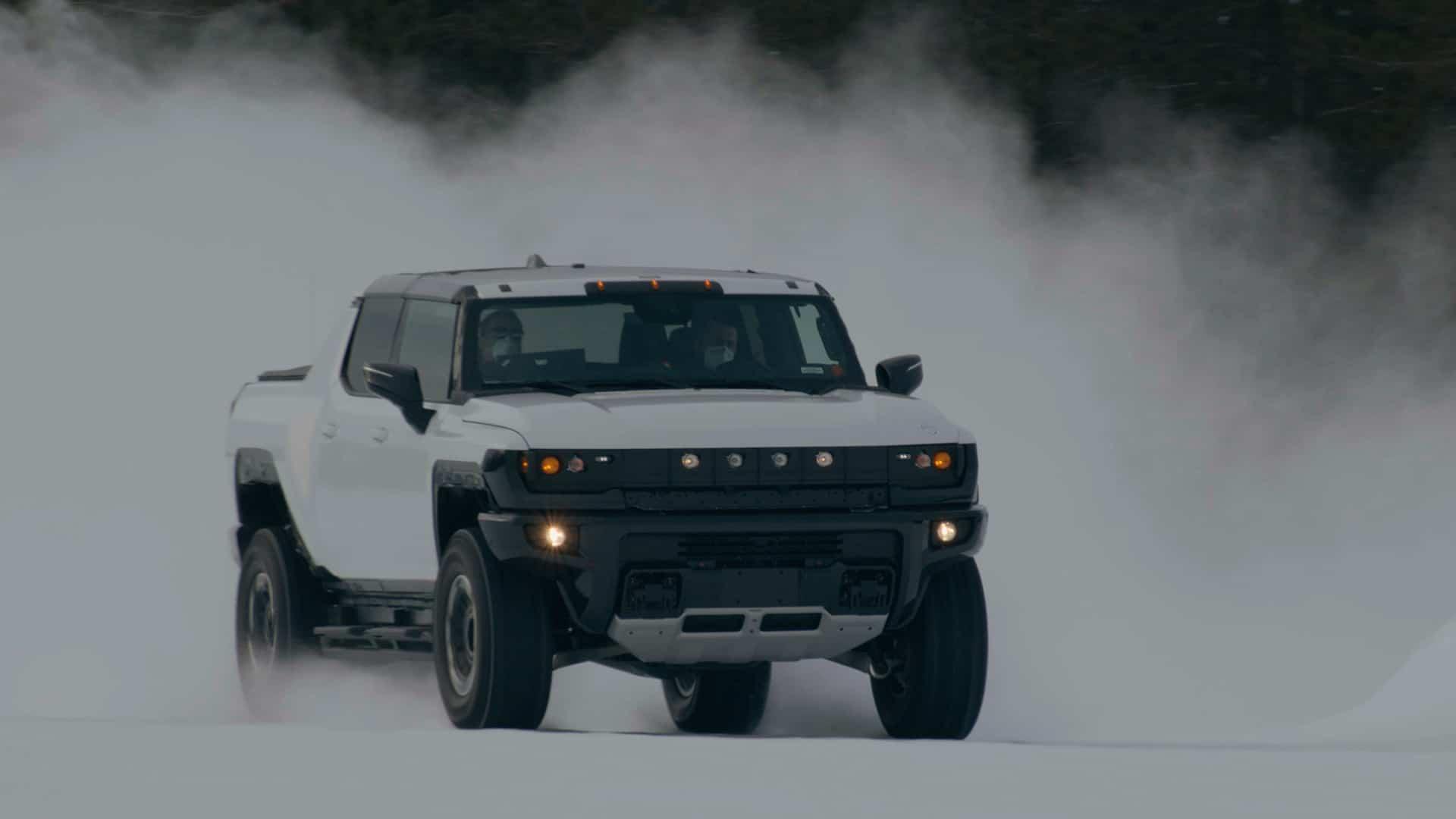 GMC HUMMER EV probado en condiciones extremas