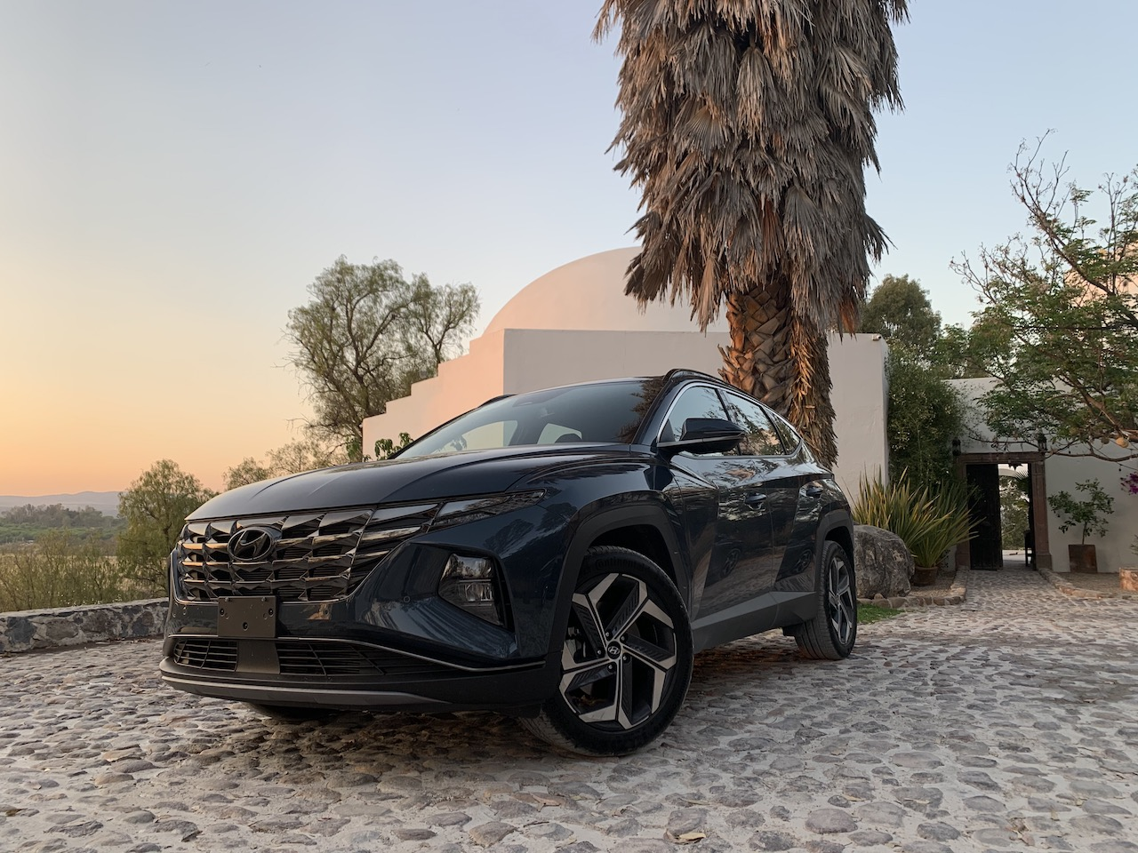 Prueba Hyundai Tucson 2022: poderosa y futurista