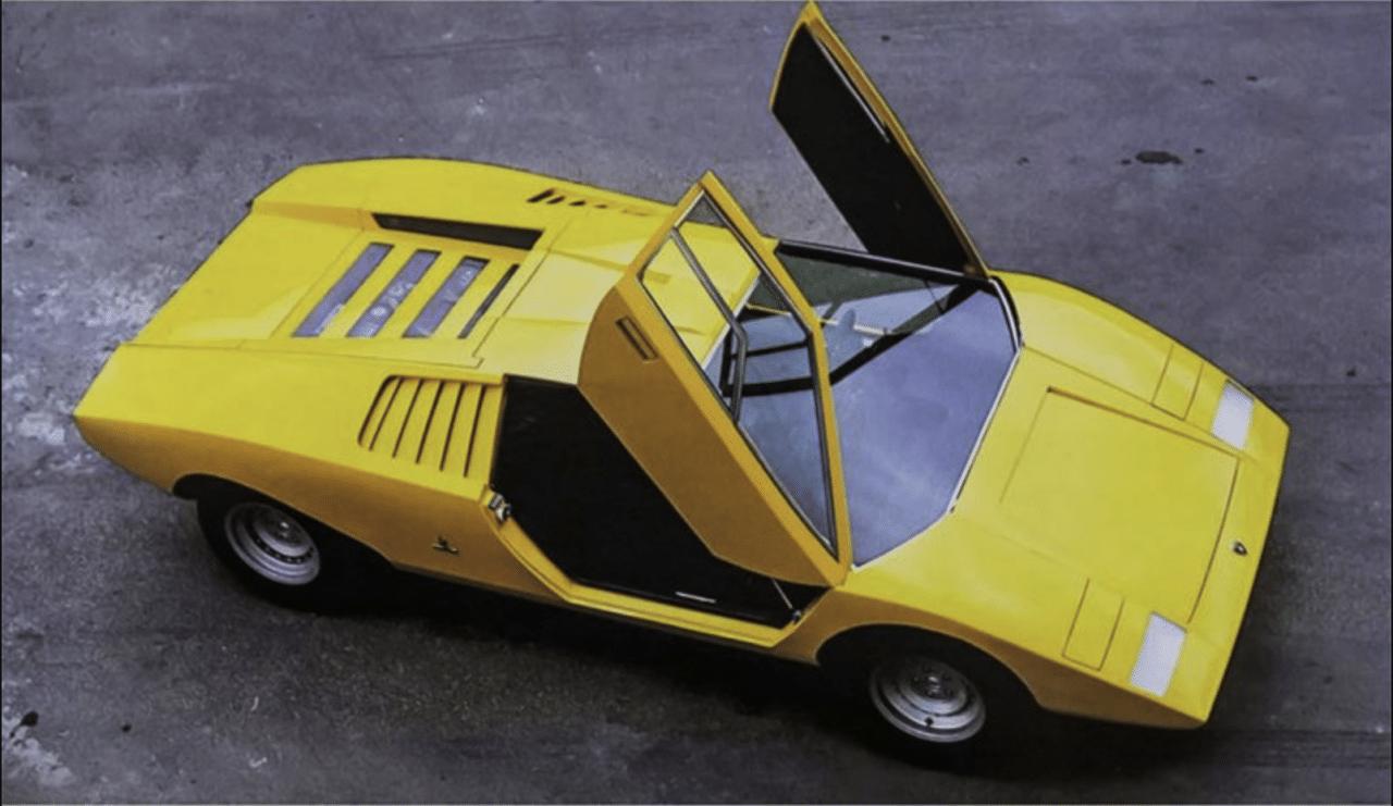 ¡Felices 50! Lamborghini Countach LP 500