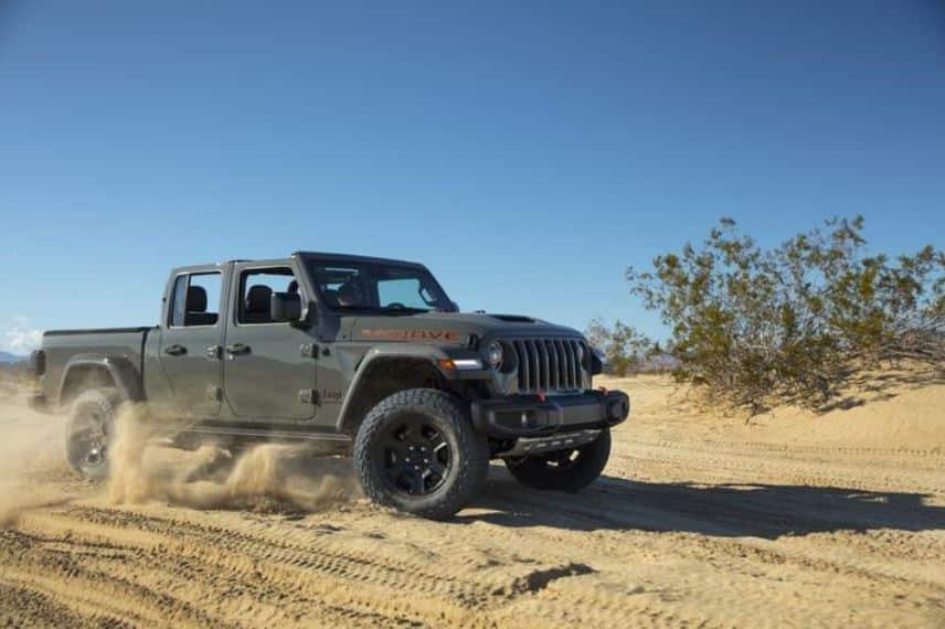 Poder para cruzar el desierto: Jeep Gladiator Mojave 2021