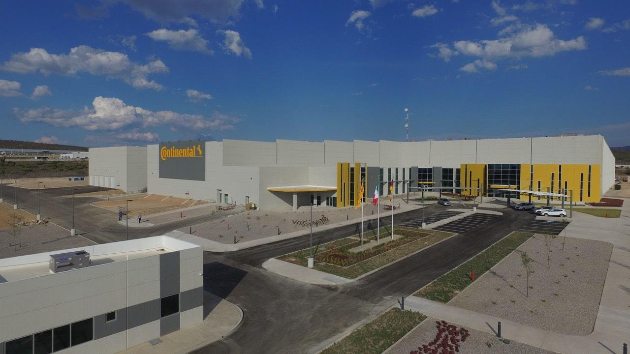 Continental expande su planta en San Luis Potosí