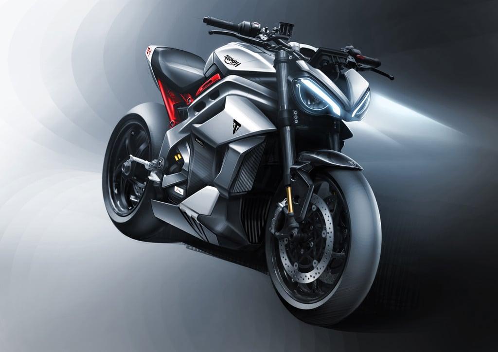 Triumph presenta su motocicleta eléctrica: Proyecto TE-1