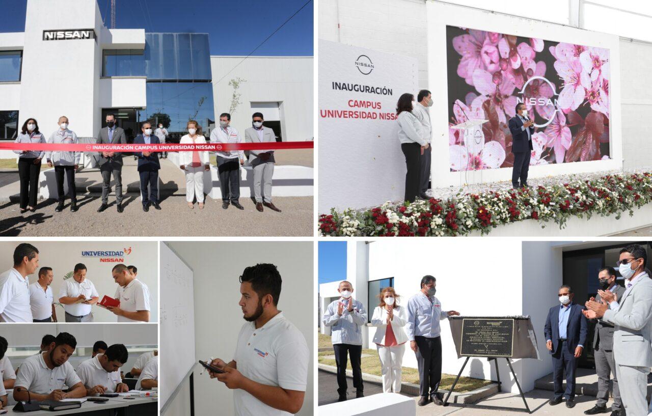 Universidad Nissan inaugura Campus en Aguascalientes