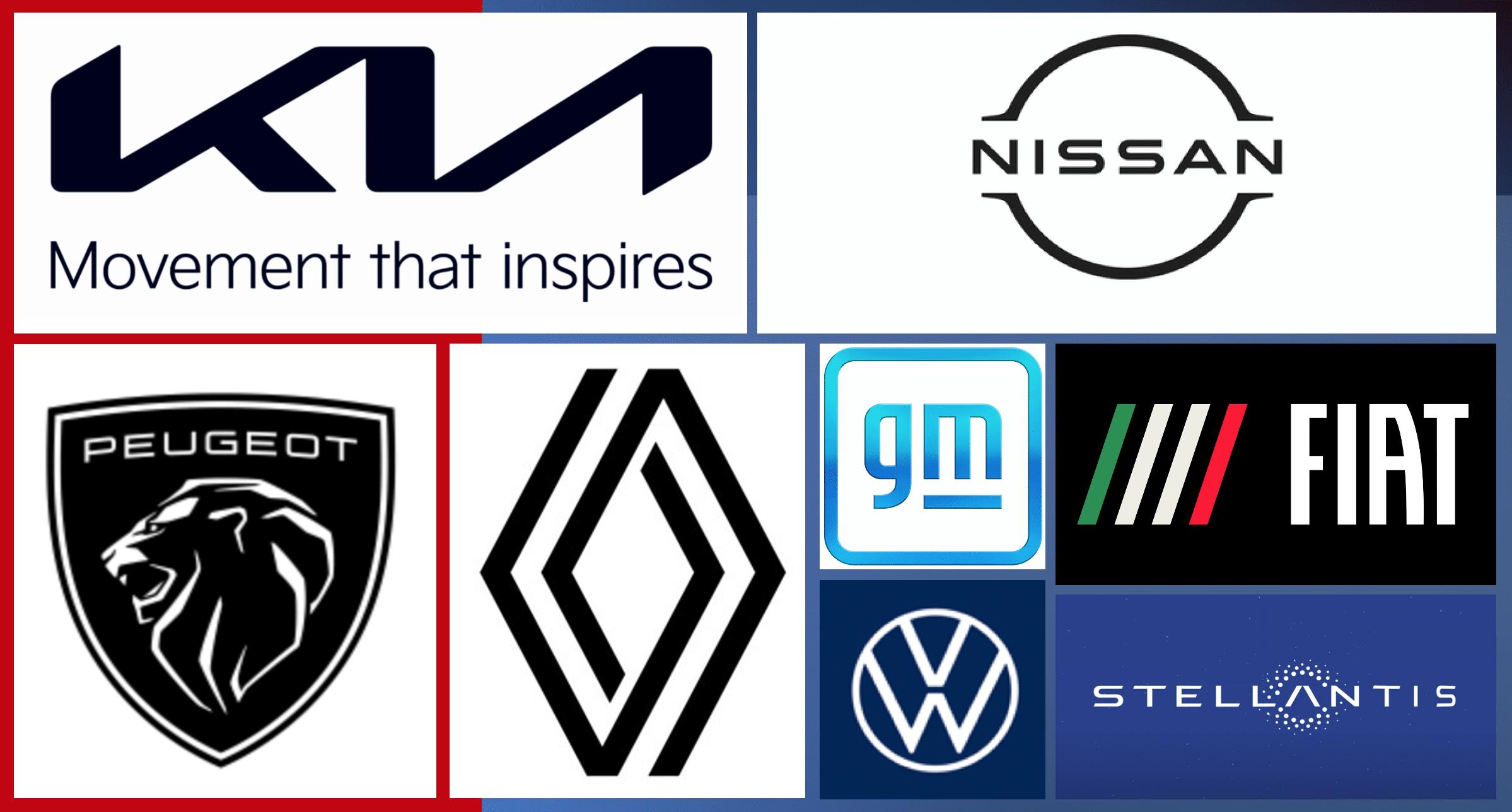 Marcas de autos que han cambiado sus logos de cara al futuro