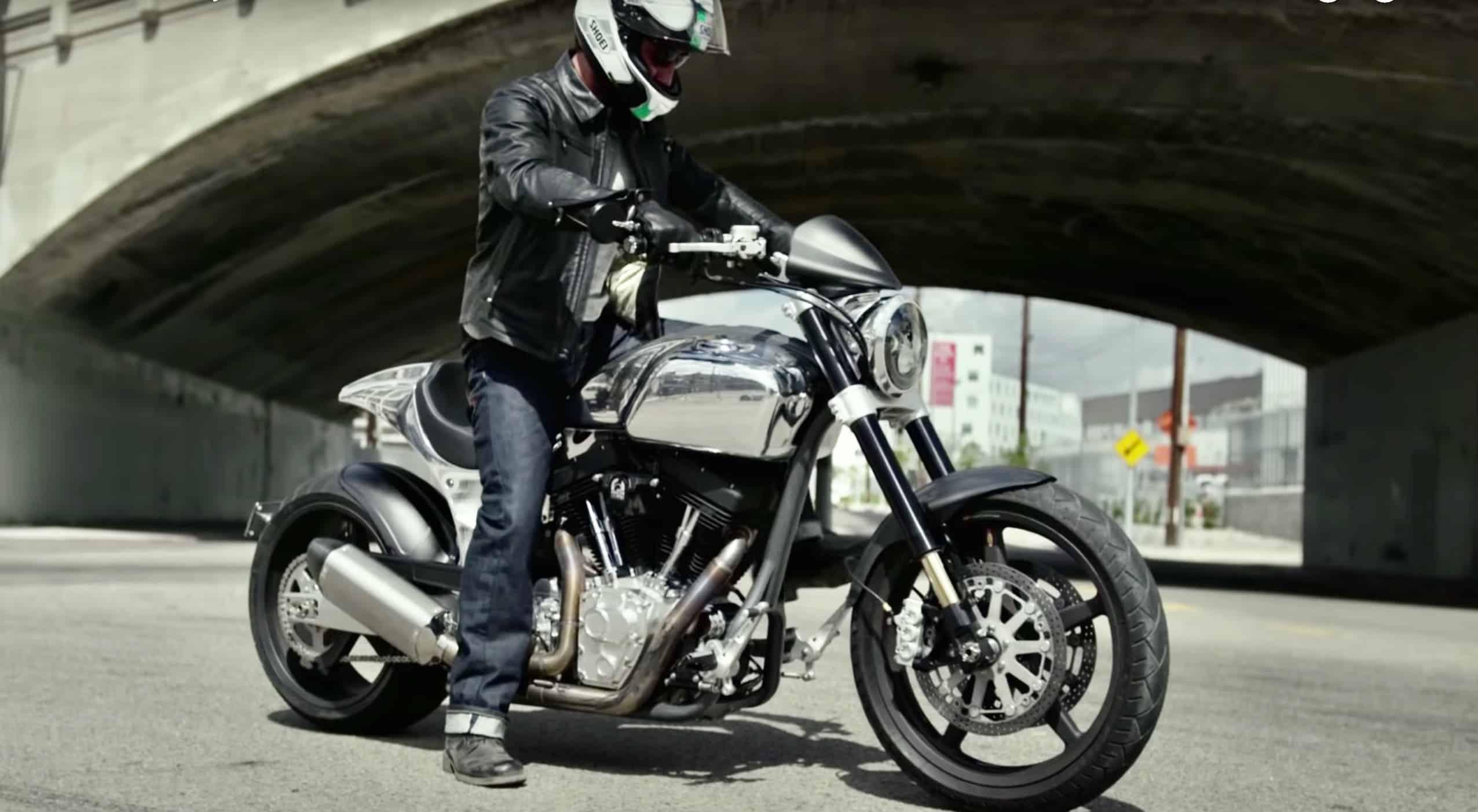 Conoce ARCH Motorcycle, la compañía de motos de Keanu Reeves